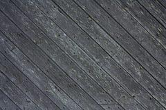 Pranchas de madeira diagonais Fotos de Stock