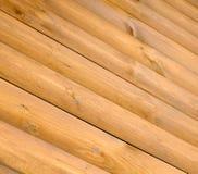 Pranchas de madeira diagonais como o fundo Imagem de Stock Royalty Free
