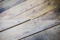 Pranchas de madeira do assoalho Foto de Stock