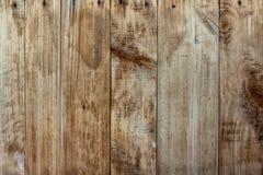 Pranchas de madeira escuras resistidas velhas Foto de Stock Royalty Free