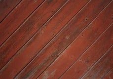 Pranchas de madeira pintadas Imagem de Stock