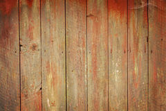 Pranchas de madeira resistidas Fotografia de Stock
