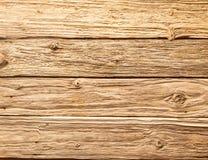 Pranchas de madeira textured ásperas Foto de Stock Royalty Free