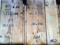 Pranchas de madeira velhas Fotografia de Stock