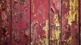 Pranchas de madeira velhas com pintura da casca Pintura da esfoliação Backgroun imagens de stock