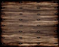 Pranchas de madeira velhas de Grunge Foto de Stock Royalty Free