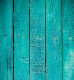 Pranchas de madeira verdes Imagens de Stock