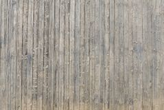 Pranchas de madeira vertikal velhas do vintage foto de stock