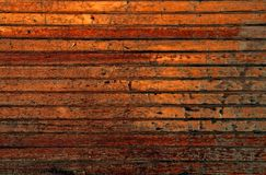 Pranchas do marrom escuro Foto de Stock