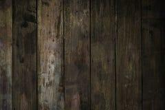 Pranchas velhas da madeira do sepia foto de stock