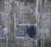 Pranchas wheathered de madeira velhas com riscos imagens de stock royalty free