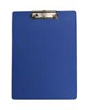 Prancheta azul Imagem de Stock