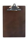 Prancheta de madeira (com trajeto) Fotografia de Stock Royalty Free