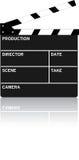 Prancheta do filme Imagens de Stock