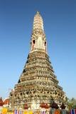 Prang av templet bangkok arkivbild