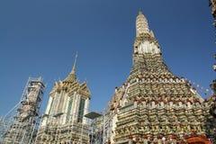Prang av templet bangkok royaltyfri bild