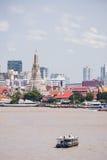 Prang av Wat Arun, Bangkok, Thailand Fotografering för Bildbyråer