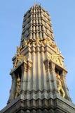 Prang av Wat Pho Arkivfoto
