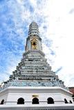 Prang. The prang built in Wat Phra Kaeo that is dedicated to Buddhist monks Stock Photo
