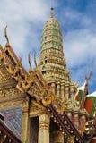 Prang des königlichen Pantheons bei Wat Phra Kaew stockbilder