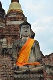 Prang est les grands travaux de statues de Bouddha Photographie stock