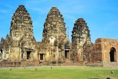 Prang Sam Yot temple Royalty Free Stock Photography