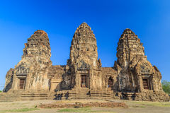 Prang Sam Yot temple Royalty Free Stock Image