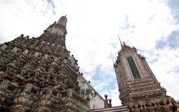 Prang at temple of dawn Royalty Free Stock Image