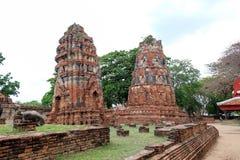 Prang två på Wat Maha That Royaltyfria Foton