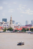 Prang van Wat Arun, Bangkok, Thailand Stock Afbeelding