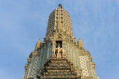 Prang Wat Arun, ο ναός της Dawn, Μπανγκόκ, Ταϊλάνδη Στοκ φωτογραφία με δικαίωμα ελεύθερης χρήσης