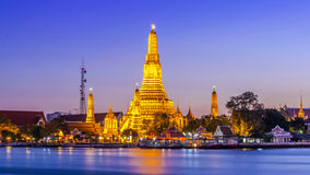 Prang of Wat Arun Stock Image