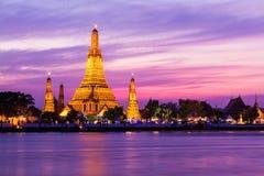 Prang of Wat Arun stock photo