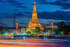 Prang of Wat Arun, Bangkok Stock Photos