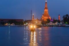 Prang of Wat Arun Stock Photos