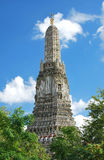 Prang of Wat Arun, The Temple of Dawn, Bangkok ,Thailand Stock Photos