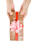 Prank gift Royalty Free Stock Photography