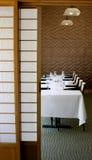 Pranzare Stlye giapponese Fotografia Stock Libera da Diritti