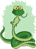 Pranzi del serpente Immagine Stock Libera da Diritti