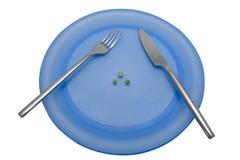 Pranzo 4 di dieta Immagine Stock