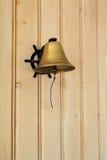 Pranzo Bell sulla parete del comitato Fotografie Stock Libere da Diritti