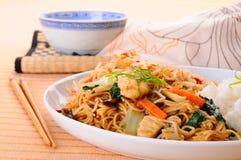 Pranzo cinese Immagine Stock