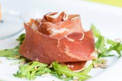 Pranzo del bonbon del prosciutto Fotografia Stock
