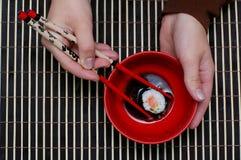 Pranzo del Giappone Fotografie Stock