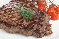 Pranzo della bistecca di groppa Fotografie Stock