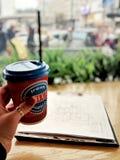 Pranzo della pausa caff? fotografie stock