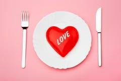 Pranzo di amore Immagini Stock