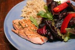 Pranzo di color salmone Immagini Stock