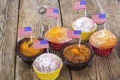 Pranzo festa dell'indipendenza sul 4 luglio fotografie stock