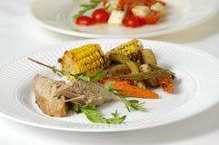 Pranzo gastronomico Fotografie Stock Libere da Diritti